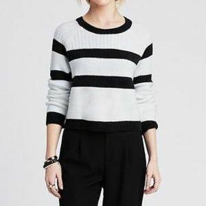 Banana Republic | Crop Striped Sweater